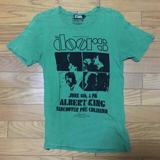 ヒステリックグラマー(HYSTERIC GLAMOUR)の中古ヒステリックグラマー TシャツS緑doors使用感あり(Tシャツ/カットソー(七分/長袖))