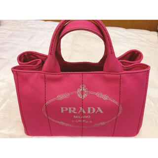 PRADA - PRADA カナパ ピンク 美品