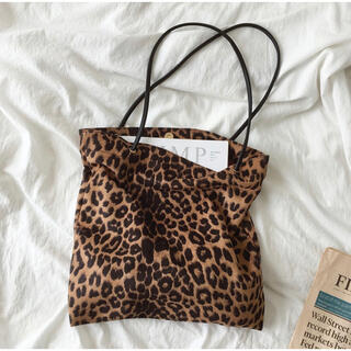 BEAUTY&YOUTH UNITED ARROWS - leopard tote bag レオパードトートバッグ スクエア レディース