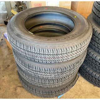 ブリヂストン(BRIDGESTONE)のSUZUKI JB64 ジムニー タイヤ 新車外し 4本 175/80R16(タイヤ)