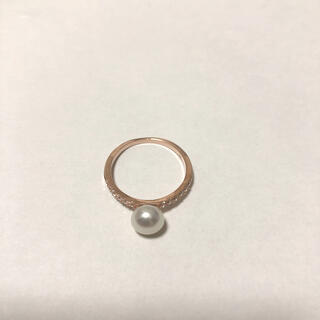 ★格安!!ホワイトパールパールリング 真珠指輪★(リング(指輪))
