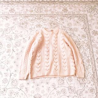 ロキエ(Lochie)のbaby pink knit(ニット/セーター)