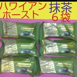 ハワイアンホースト 抹茶マックス バー  ❌ 6袋