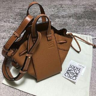 LOEWE - LOEWE ロエベ 美品⭐︎ハンモック スモール ライトキャラメル ハンドバッグ