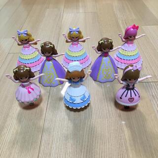 マクドナルド(マクドナルド)のマック ハッピーセット リカちゃん 8体セット(ぬいぐるみ/人形)