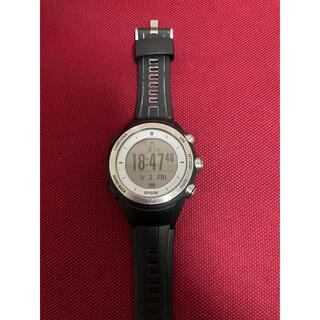 セイコー(SEIKO)のSEIKO EPSON wristable GPS エプソン MZ-500(腕時計(デジタル))