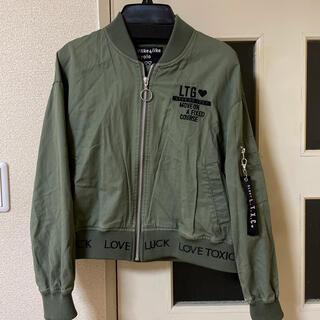ラブトキシック(lovetoxic)のLovetoxic ブルゾン MA-1(スカート)