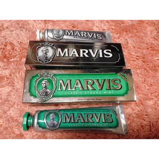 マービス(MARVIS)のmarvis 歯磨き粉 ホワイトニング 新品未使用(歯磨き粉)