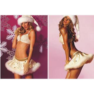 Victoria's Secret - 新品 Victoria's Secret White Santa Skirt