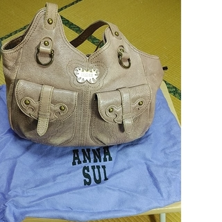 ANNA SUI  ピンク バック