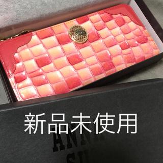アナスイ(ANNA SUI)のアナスイ ANNA SUI 財布 コーラル ピンク新品未使用(財布)