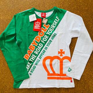 ベビードール(BABYDOLL)の☆タグ付き新品 BABYDOLL キッズ用ロンT サイズ140cm 長袖Tシャツ(Tシャツ/カットソー)