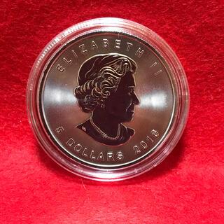 1枚メイプル銀貨1オンス2016年