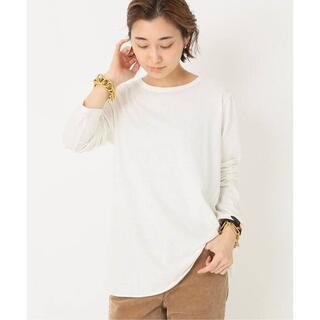 DEUXIEME CLASSE - 新品タグ付★ドゥーズィエムクラス Layering Tシャツ ホワイト