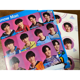 Johnny's - SnowMan 非売品 ファイル