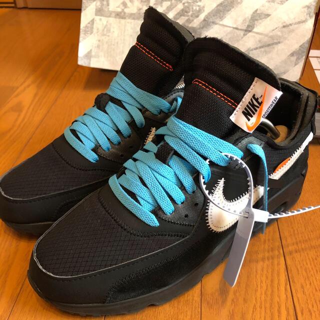 NIKE(ナイキ)のNIKE×OFF-WHITE AIR MAX90  メンズの靴/シューズ(スニーカー)の商品写真