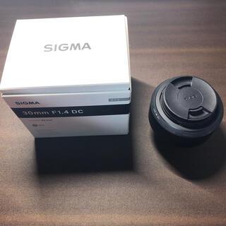SIGMA - 【限定値下げ中】SIGMA 30mm F1.4 DC.  For NIKON
