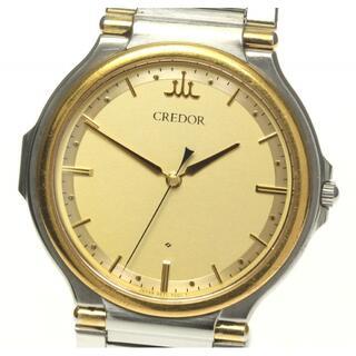 セイコー(SEIKO)のセイコー クレドール  9571-7000 クォーツ メンズ 【中古】(腕時計(アナログ))