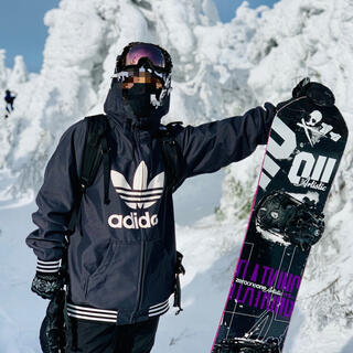adidas - 【美品】adidas スノーボードウェア ジャケット