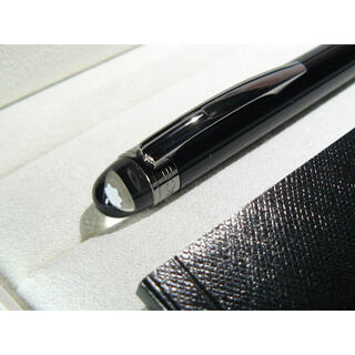 MONTBLANC - 極上スターウォーカー25690ミッドナイトブラックレジン★モンブランBOX小冊子