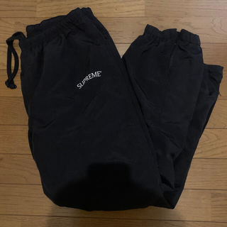 シュプリーム(Supreme)のsupreme 17fw arc logo track pants 黒 M(その他)