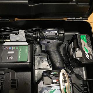 ヒタチ(日立)のHikoki日立 コードレスインパクトドライバ WH36DC 2XPD青 (工具)