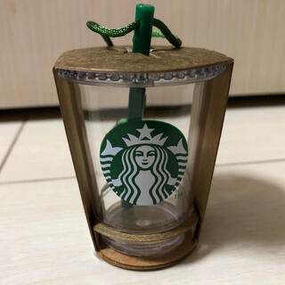 スターバックスコーヒー(Starbucks Coffee)のスターバックス ホリデー2015 オーナメント ロゴコールドカップ(その他)