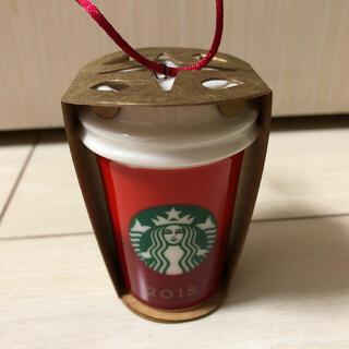 スターバックスコーヒー(Starbucks Coffee)のスターバックス ホリデー2015 オーナメント レッドカップ(その他)