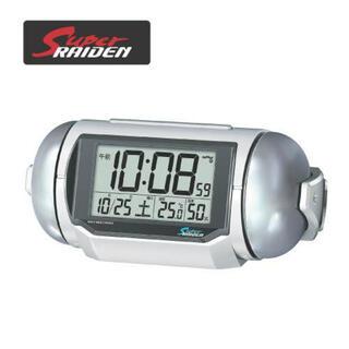 セイコー(SEIKO)のSUPER RAIDEN スーパーライデン 目覚まし時計 大音量 NR523W(置時計)