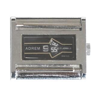 セイコー(SEIKO)のビンテージ スイス製 ADREM 17石 手巻き腕時計 メカデジ(腕時計(アナログ))