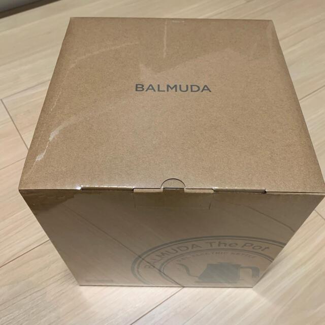 BALMUDA(バルミューダ)のバルミューダ ポット ブラック スマホ/家電/カメラの生活家電(電気ケトル)の商品写真
