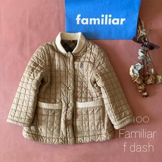 familiar - Familiar f dash ファミリア キルティングジャケット/コート