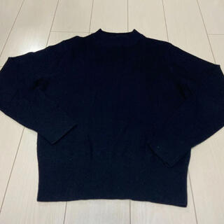 ルメール(LEMAIRE)のユニクロ ルメール コラボニット セーター 黒(ニット/セーター)
