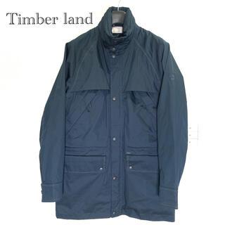 ティンバーランド(Timberland)の【ティンバーランド】ナイロンパーカー 紺 Sサイズ  美品 ウィンドブレーカー(ナイロンジャケット)