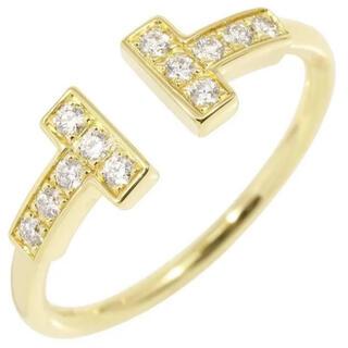 ティファニー(Tiffany & Co.)の【Tiffany】ティファニー T ダイヤモンドワイヤーリング18K(リング(指輪))