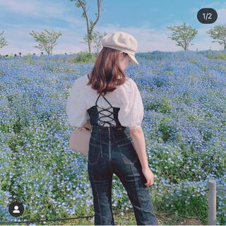 ミラオーウェン(Mila Owen)の♡ MilaOwen キャスケット 新品 ♡(キャスケット)