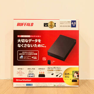 Buffalo - 【新品未開封】BUFFALO 外付けHDD 4TB