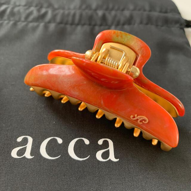 acca(アッカ)の最終価格【新品】acca バービー'20ss限定カラー ruggie 中クリップ レディースのヘアアクセサリー(バレッタ/ヘアクリップ)の商品写真