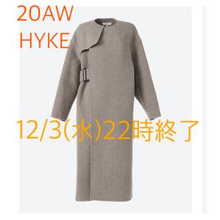 HYKE - 20AW HYKE ハイク DOUBLE FACE COAT