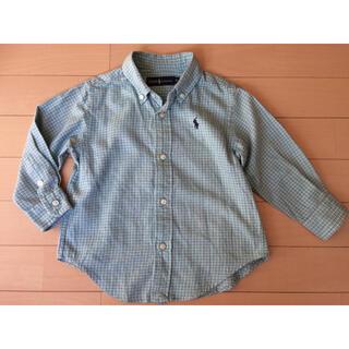Ralph Lauren - ラルフローレン チェック柄長袖シャツ 90cm