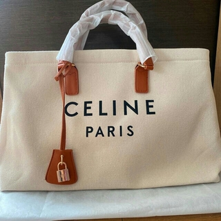 celine - CELINE(セリーヌ) ロゴプリント トートバッグ