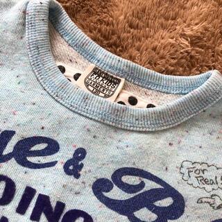 エフオーキッズ(F.O.KIDS)のF.O.KIDS トレーナー 水色 120(Tシャツ/カットソー)