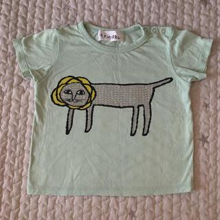 ミナペルホネン(mina perhonen)のミナペルホネン  look tシャツ  キッズ ベビー 80cm(Tシャツ)