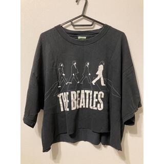 THE BEATLES Tシャツ 古着 リメイク