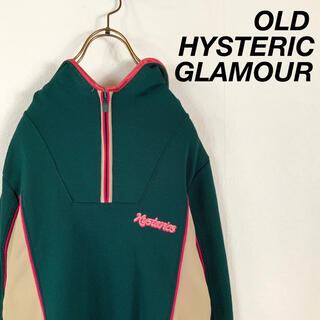 HYSTERIC GLAMOUR - 【美品】OLD HYSTERIC GLAMOUR ハーフジップ トラックトップ