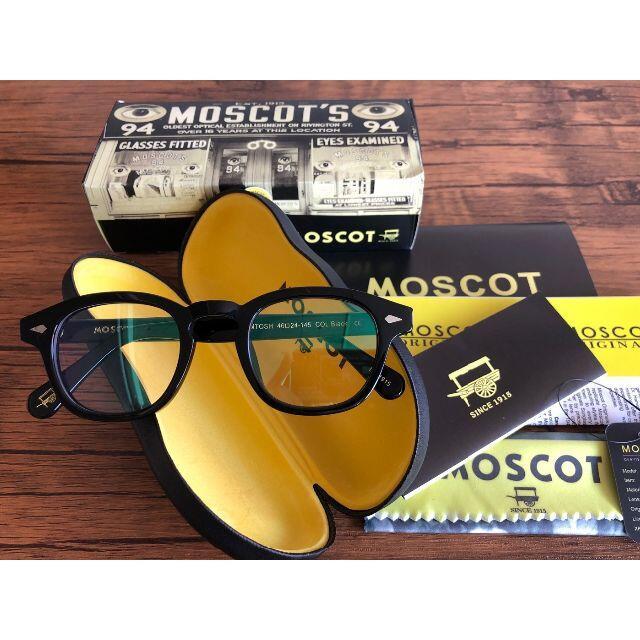 MOSCOT LEMTOSH/モスコット レムトッシュ 46 BLACK メンズのファッション小物(サングラス/メガネ)の商品写真