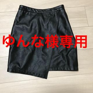 リゼクシー(RESEXXY)のリゼクシー★レザー調スカート(ミニスカート)
