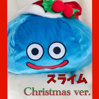 スクウェアエニックス(SQUARE ENIX)のドラクエ スライム クリスマスver. BIGぬいぐるみ(ぬいぐるみ)