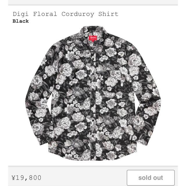 Supreme(シュプリーム)のSupreme Digi Floral Corduroy Shirt メンズのトップス(シャツ)の商品写真