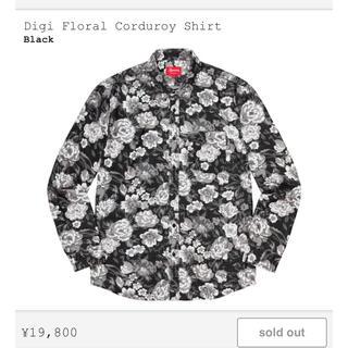 シュプリーム(Supreme)のSupreme Digi Floral Corduroy Shirt(シャツ)